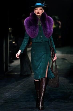 23f0c8411 Gucci otoño invierno 2011/2012: Pieles coloristas – La Bruja con ...