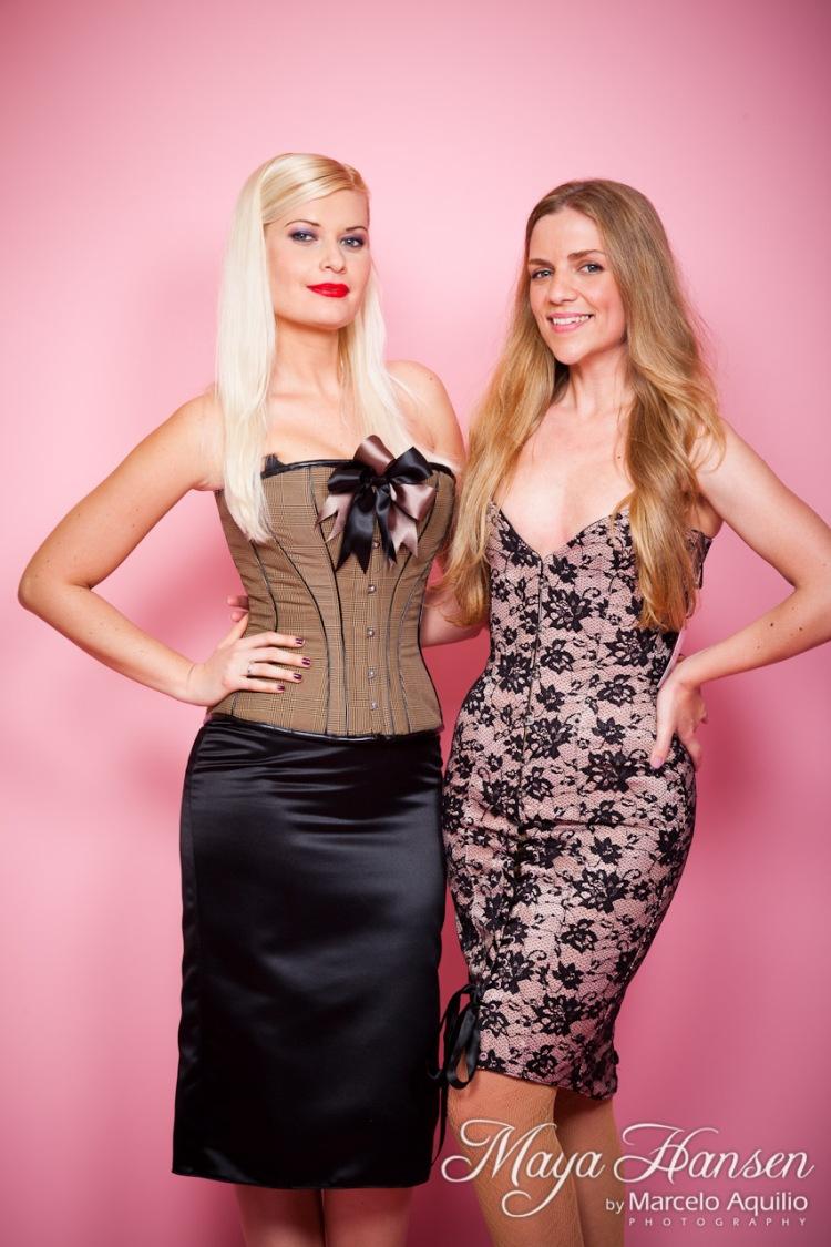 Collette Velarde & Maya Hansen