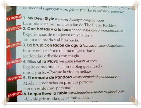 premio blog moda marie claire 2011 1