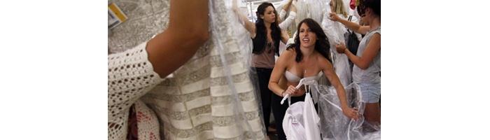 5 cosas que NO debes hacer cuando compres tu vestido de novia