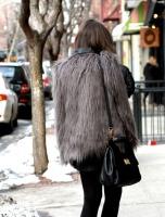 Street Style - Fur Yeti Coats