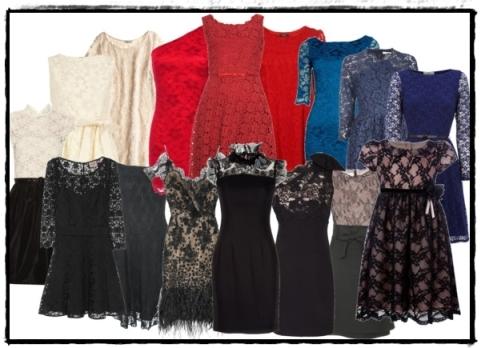 Vestidos de fiesta encaje 201