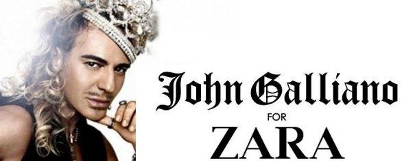 John Galliano para Zara