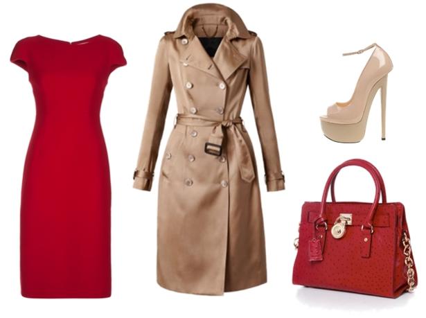 Rebajas vestidos rojos