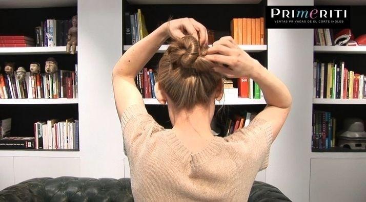 Videoblog Peinados 2012 paso a paso moño nudo