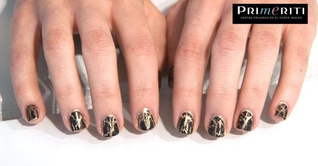 Tutorial uñas crackeladas