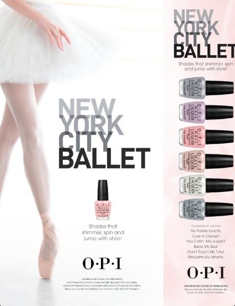 Colección OPI Ballet New York