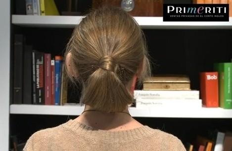 Videoblog peinado moño bajo