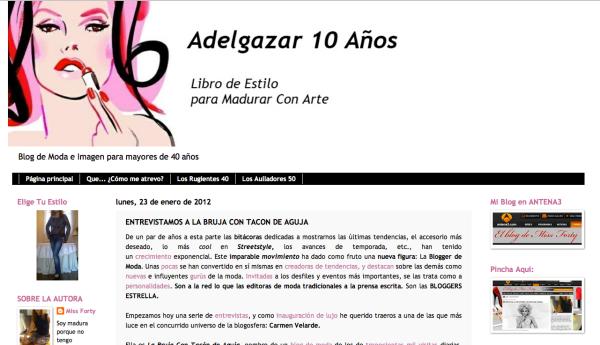 Carmen Velarde en Adelgazar 10 años