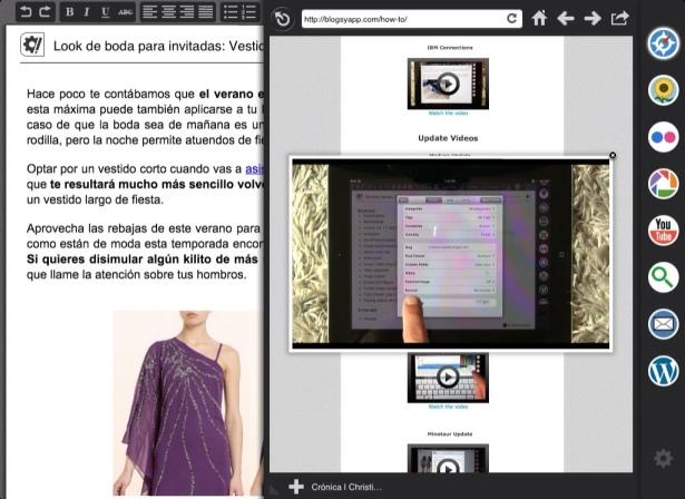Blogsy para iPad