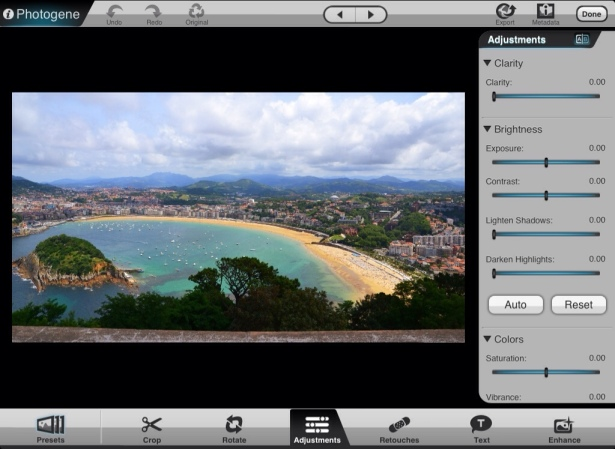 Photogene para iPad