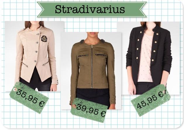Chaquetas Stradivarius