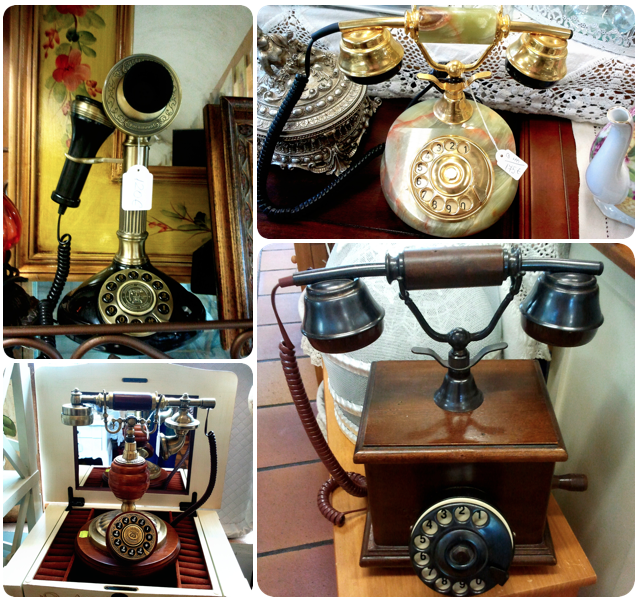 Teléfonos antiguos Boceguillas