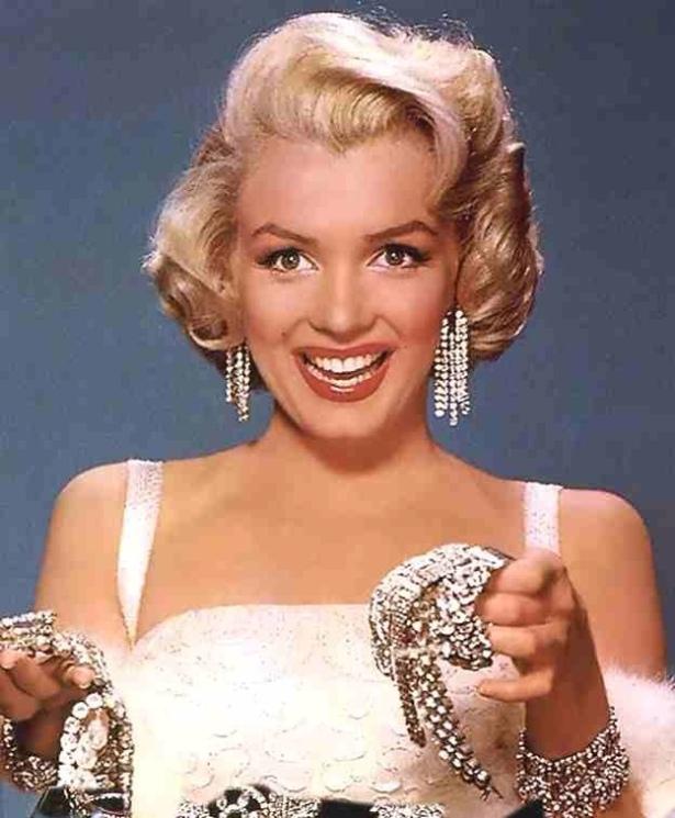 Marilyn Monroe diamonds