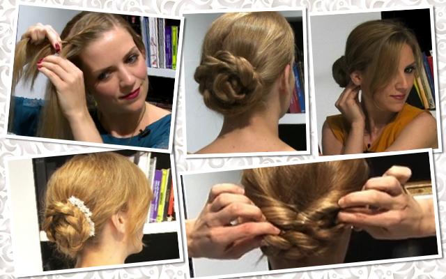 5 peinados exprés para Nochevieja (vídeos)