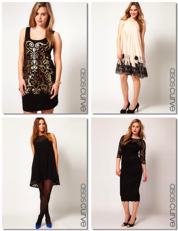 Vestidos de gala para mujeres con curvas
