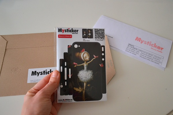 MySticker vinilo para iPhone 4