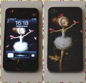 MySticker vinilo personalizado iPhone 4