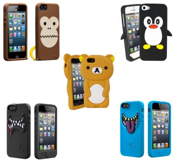 Fundas de animales y monstruos para iPhone