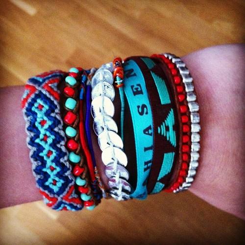 ¡Esta es mi pulsera HIPANEMA!