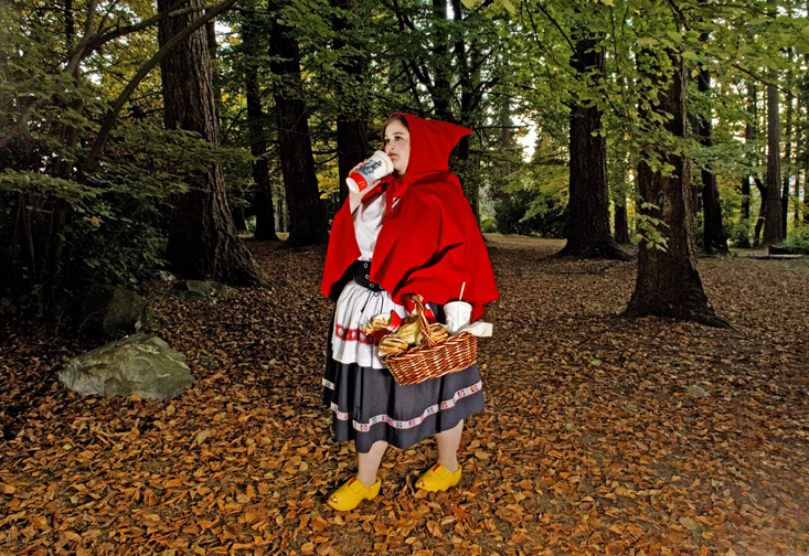 Red Riding Hood by Dina Golstein
