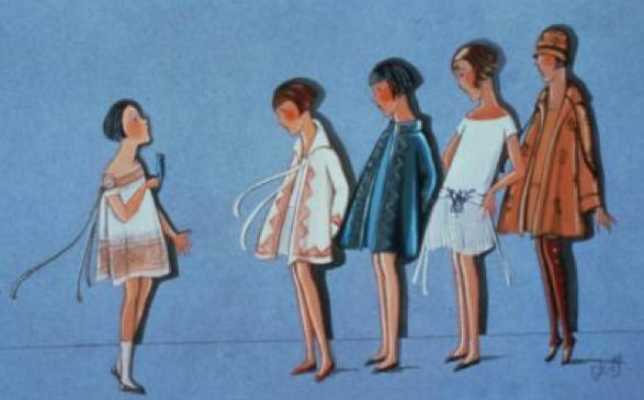Bocetos Lanvin moda infantil 03