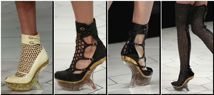 Zapatos Alexander McQueen primavera verano 2013