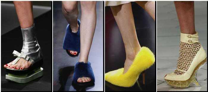 Zapatos imposibles primavera verano 2013
