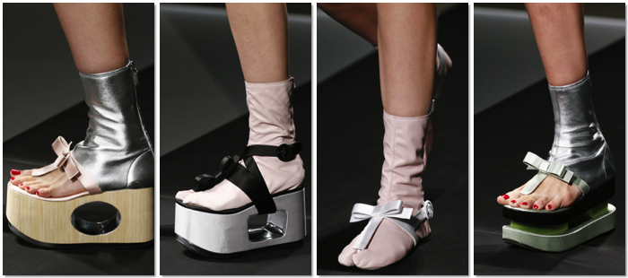 Zapatos Prada primavera verano 2013