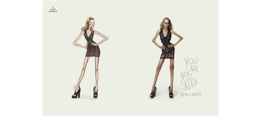 No a la anorexia