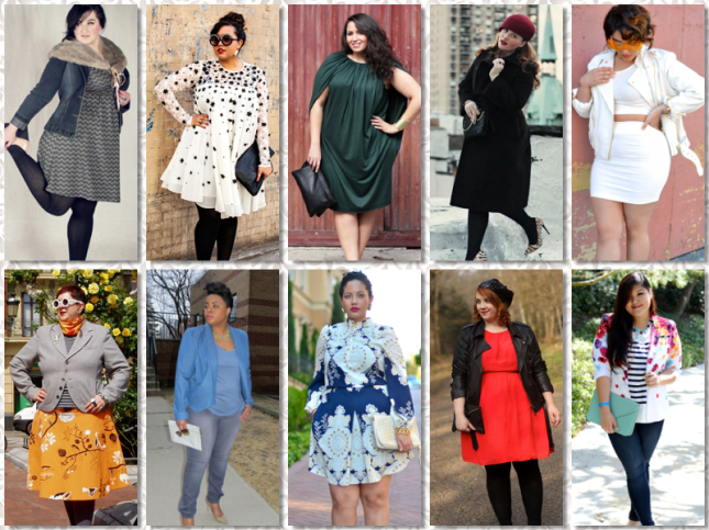 Curvy fashion blogs