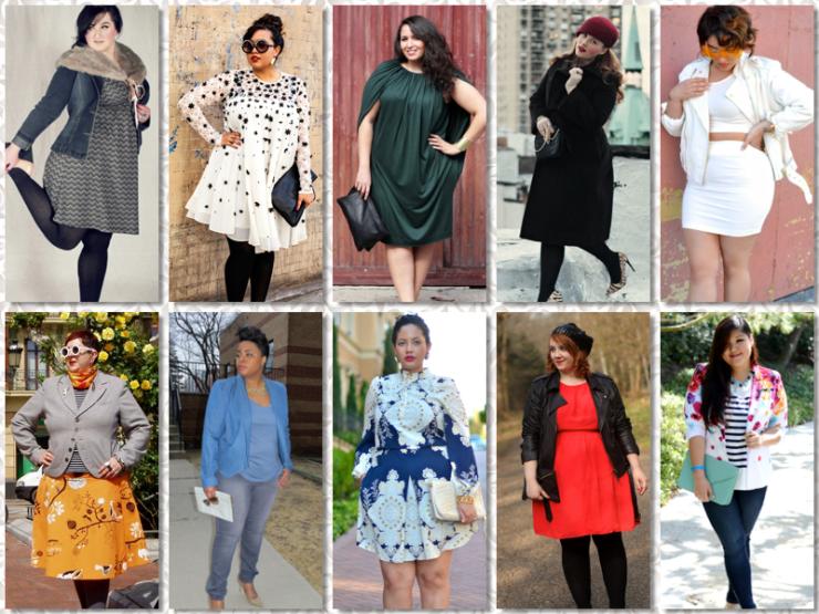Curvy fashion blogs