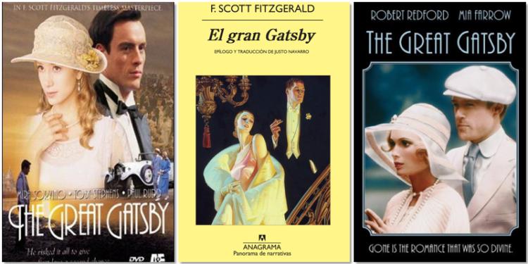 El gran Gatsby novela y adaptaciones