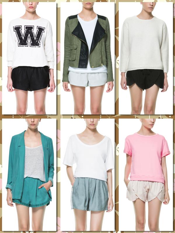 Shorts TRF primavera verano 2013