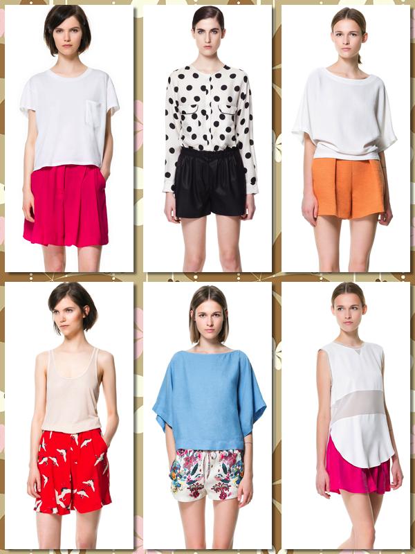 Shorts ZARA primavera verano 2013