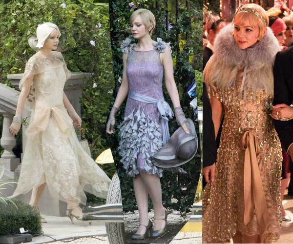 Vestuario El gran Gatsby
