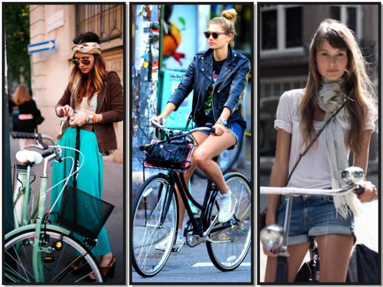 Manual de estilo para montar en bici