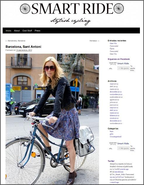 Smartride Moda y bicicletas