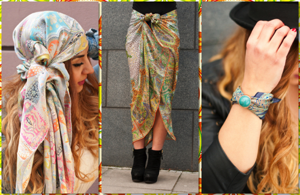 Formas de llevar un pañuelo