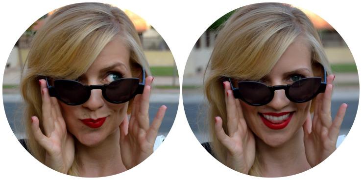 Gafas cateyes de ASOS