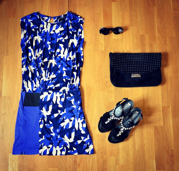 Look Mango printed dress