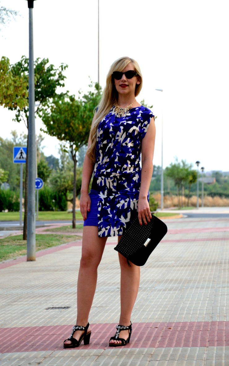 Mango printed dress 01