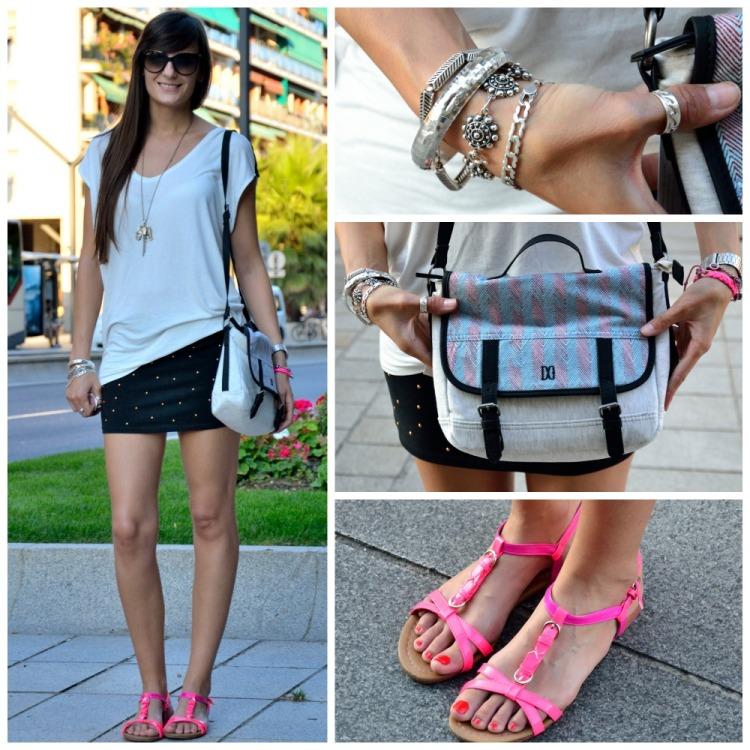 Street Style fluor sandals