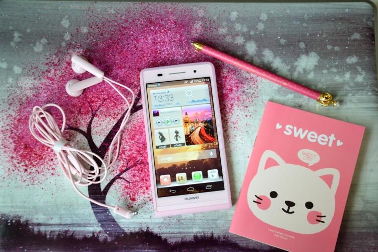 Evento Huawei Ascend P6 rosa