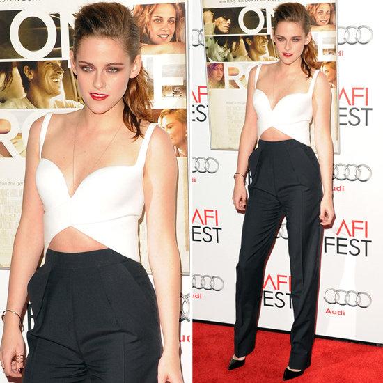 Kristen Stewart cropped top