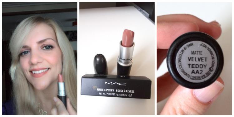 Mac matt nude lipstick Velvet Teddy