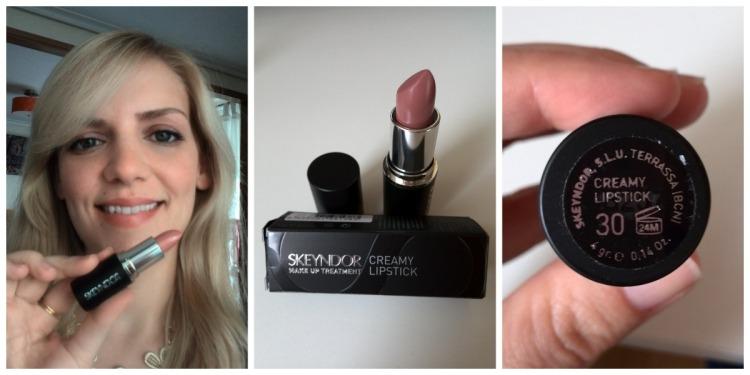 Skeyndor creamy nude lipstick