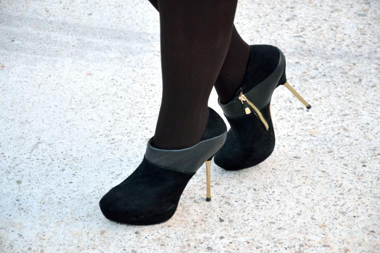 Botines de ante de Zara
