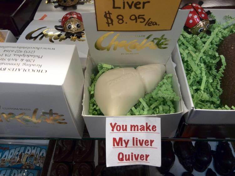 Hígado de chocolate