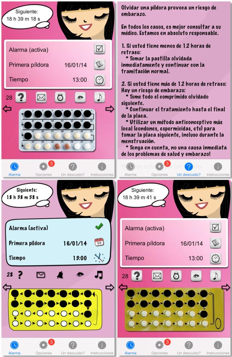 La pildora iPhone app